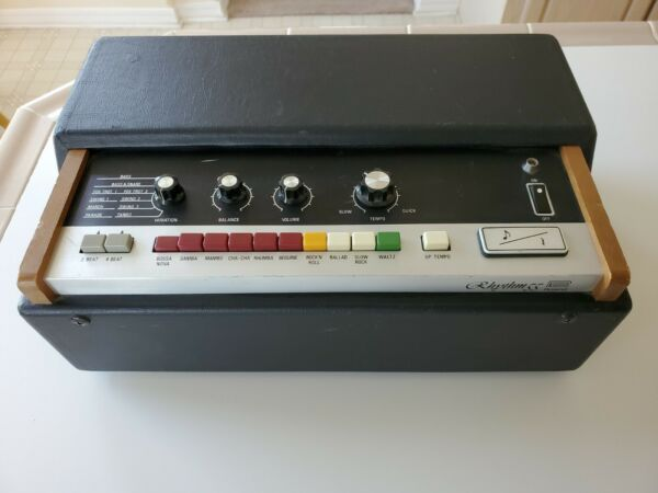 USED UNTESTED Vintage Roland TR 55 Rhythm 55 Drum Machine FOR PARTS OR REPAIR $139.95