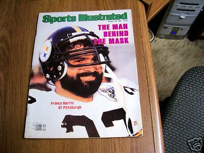 Sports Illustrated 1982 Franco Harris Cover