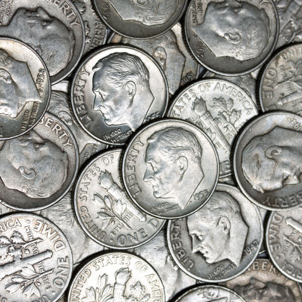 DEAL OF THE SUMMER Lot Old US Junk Silver Coins 1 2 Pound LB Pre 1965