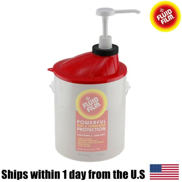 Fluid Film 1 Gallon Pail Rust Corrosion Protection Pump For Liquid Fits Can