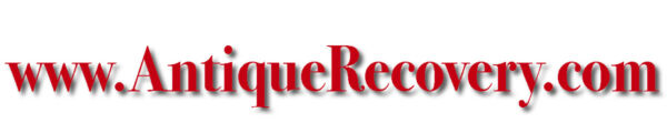 WWW. ANTIQUE RECOVERY .COM PICKER DEALER SALES PREMIUM DOMAIN NAME WEB ADDRESS