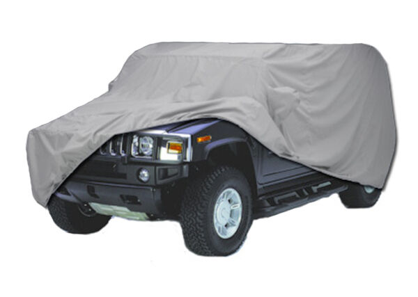 for Hummer H1 H-1 Wagon with spare tire Custom Fit Car Cover Waterproof