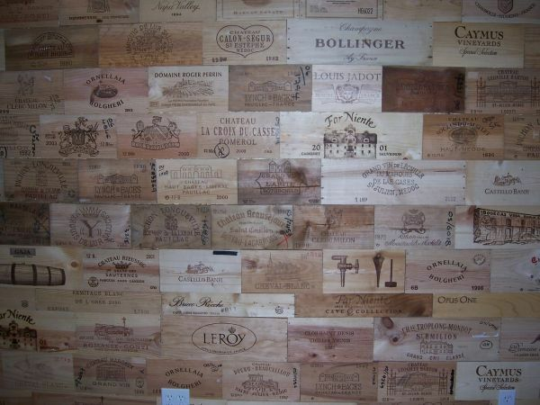 🔵 25 Assorted Rare ❗️BRANDED Wood WINE PANELS. Diff. Sizes. Huge Ebay Store💥