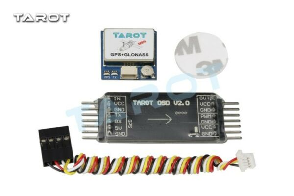 Tarot NEW Mini OSD Image Overlay GPS System for FPV Drone Multicopter - TL300L2