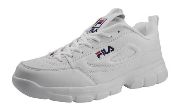 Fila Men Disruptor SE Shoes Athletic Fashion Sneakers White Classic Light Weight