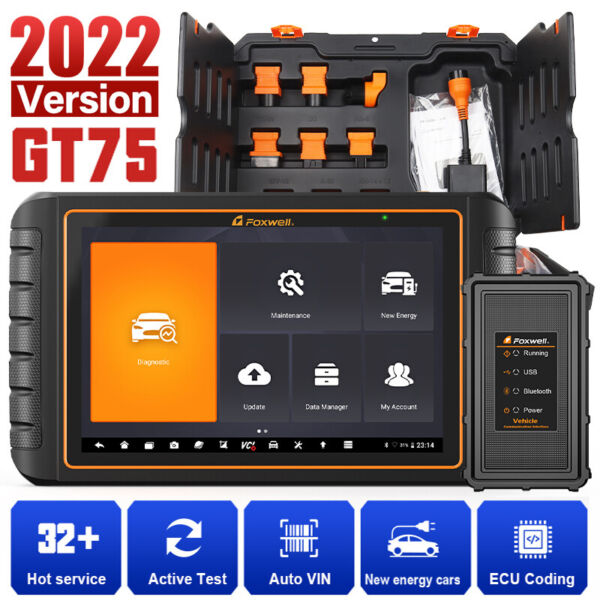 Ancel AD410 OBDII Code Reader Check Engine Light Auto Scanner IM Readiness US