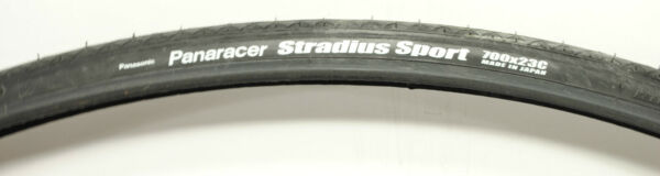 Panaracer Stradius Road Bike Tire Black 700x23