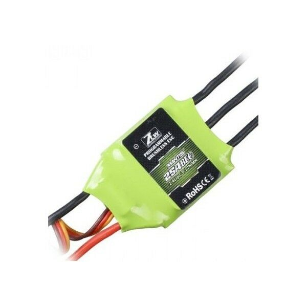 4 pcs ZTW 25A SimonK Loaded BRUSHLESS SPEED CONTROLLER ESC WITH 5V BEC