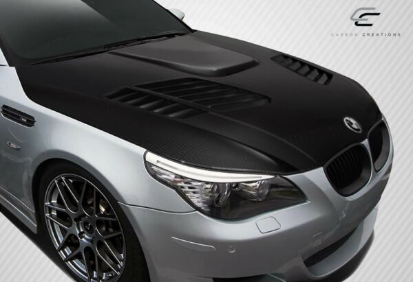 Carbon Creations E60 4DR GTR Look Hood 1 Piece for 5 Series BMW 04 10 ed 11 $1365.00