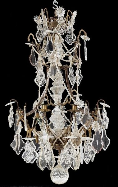 19th century  beginning antique Chandelier from  Tartu University library