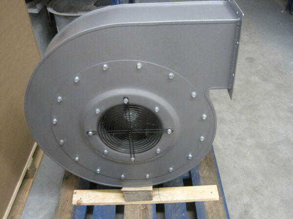 High Pressure Centrifugal Fan Blower 7500m3hr 4000Pa 7.5KW 3 phase Extractor