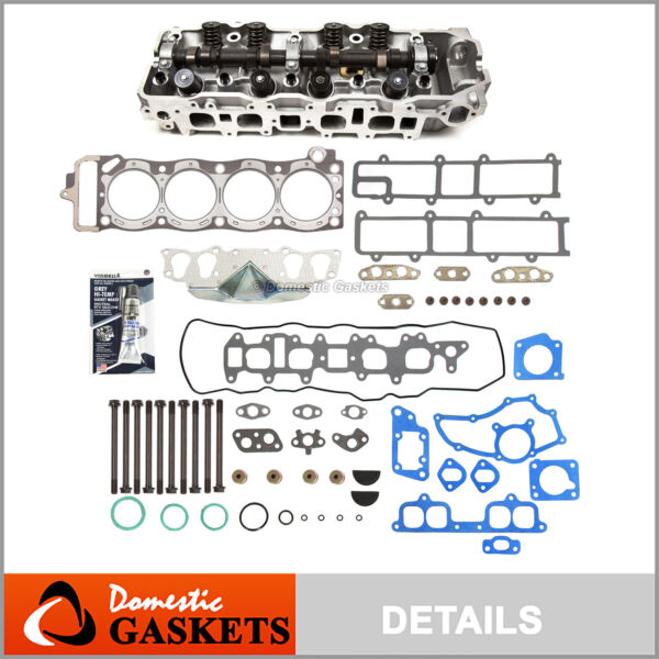 Fits 85-95 Toyota 2.4 Cylinder Head Gasket Bolts Set Timing Chain Water Pump Kit