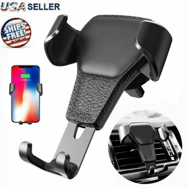 Car Mount Air Vent Phone Holder Cradle for iPhone X XR XS Max Samsung S10 Note9 $4.97