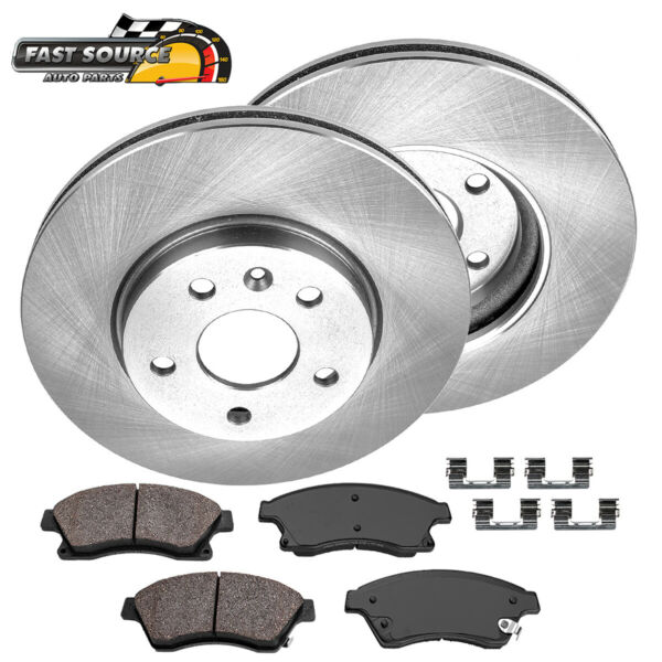 Front OE Replacement Brake Rotors And Ceramic Brakes Chevy Cruze Sonic Volt