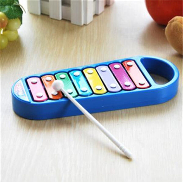 Kid Musical Instrument Preschool Toddler Cute 8-Note Xylophone Toy 2 Colors