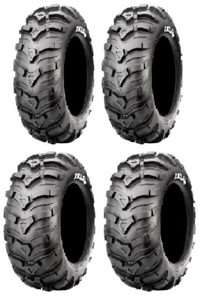 25x8-12 25x11-12 CST MAXXIS ANCLA 4 TIRE SET Arctic Cat 400i 400 500 500i etc.