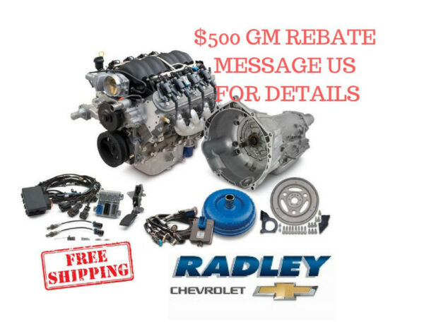 CHEVROLET OEM GM Performance LS3 480 HP Connect Cruise 19370411 Engine 19301358
