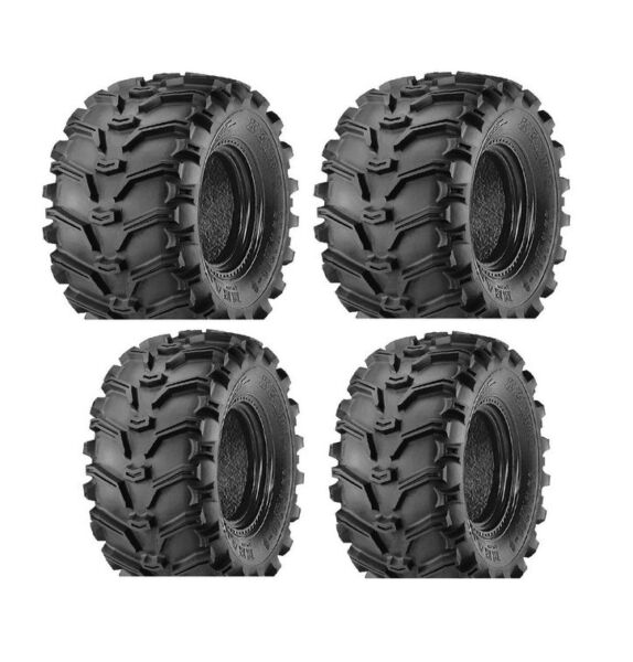 25x8-12 FRONT 25x10-12 REAR KENDA BEAR CLAW (4) TIRES SET 25-8-12 25-10-12 FOUR
