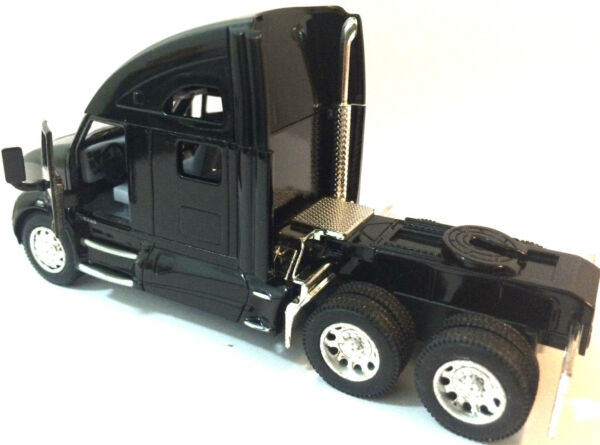 Kinsmart 1:68 scale Kenworth T700 tractor Truck Cab diecast model PullBack Black