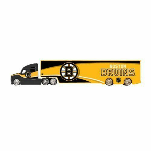 NHL Top Dog Tractor Trailer Transport Car Carrier 1:64 Scale Diecast Metal Body $29.99