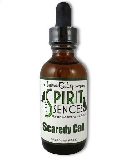 Jackson Galaxy Solutions SCAREDY CAT for CATS 2oz Bottle FREE SPRAY TOP $25.48