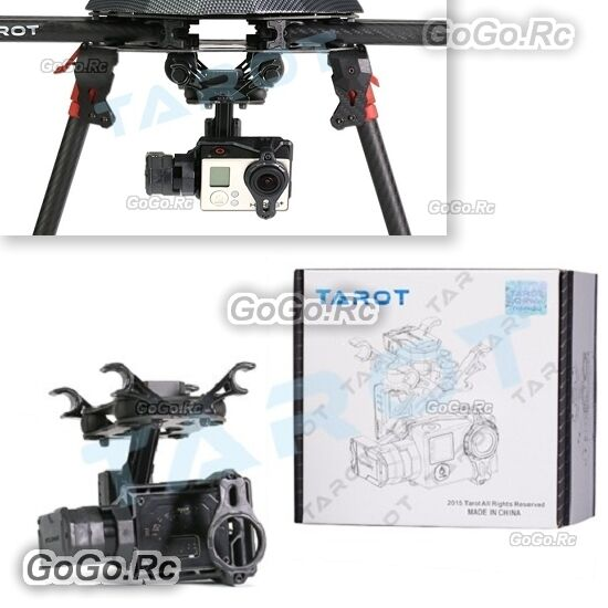 Tarot 2-Aixs Brushless Gimbal for Gopro HERO3 4 Sport Camera RC Drone - TL2D01