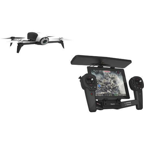 Parrot BEBOP 2 Quadcopter Drone with 14MP Full HD 1080p Camera  Skycontroller