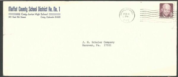 DATED 1972 COVER CRAIG CO MOFFAT COUNTY CRAIG JR HIGH SCHOOL SEE INFO