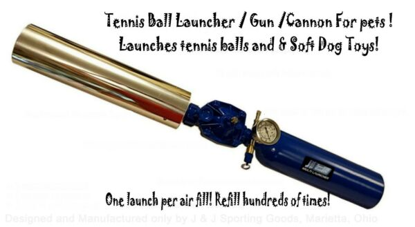 Dog training launcher Tennis Ball cannon B2.6 54 Al. tank & barrel air fill