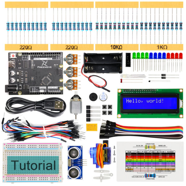 Freenove Ultrasonic Starter Kit with controller R3 (Arduino-Compatible) project