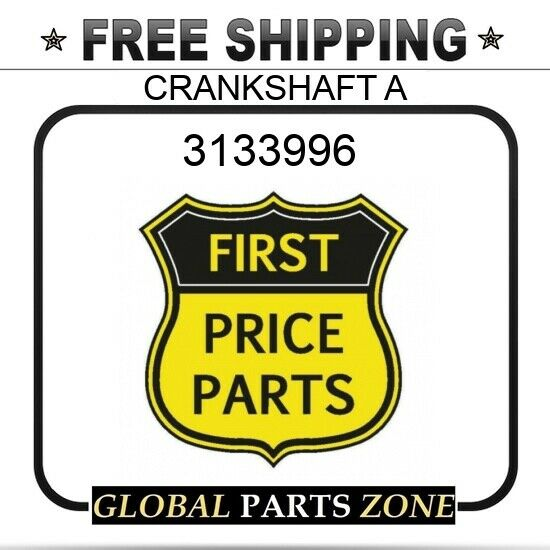 3133996 2219362 Crankshaft +Gear WE SELL WIDE RANGE OF QUALITY REPLACEMENT PARTS