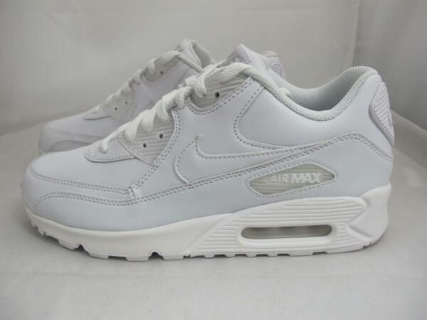 NEW MEN'S NIKE AIR MAX 90 LEATHER 302519-113