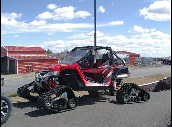 Camoplast Camso 12 13 Honda 700 Big Red UTV 4S1 Tracks 6722 03 2680