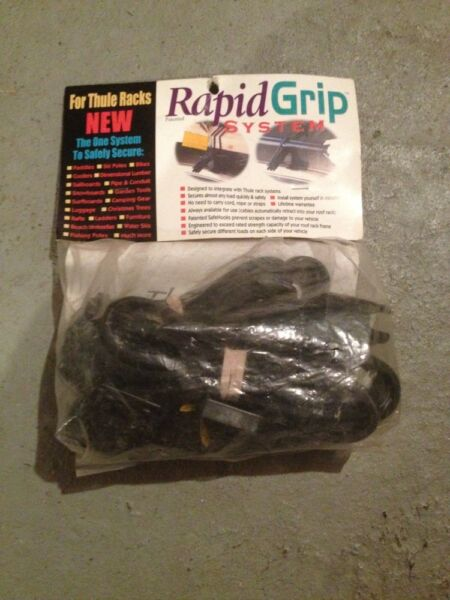 Rapid Grip Tie Down And Attachments for Thule Rack New $22.99