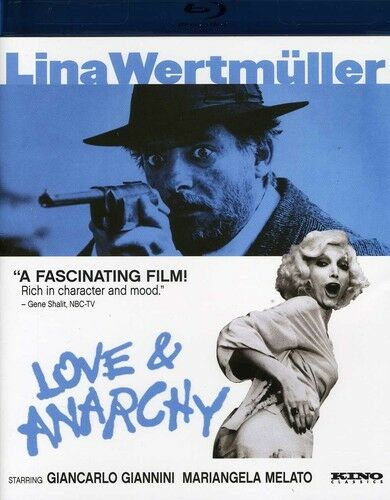 Love and Anarchy New Blu ray Subtitled $31.14