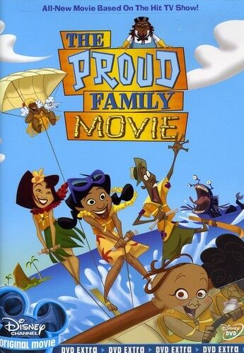 The Proud Family Movie New DVD