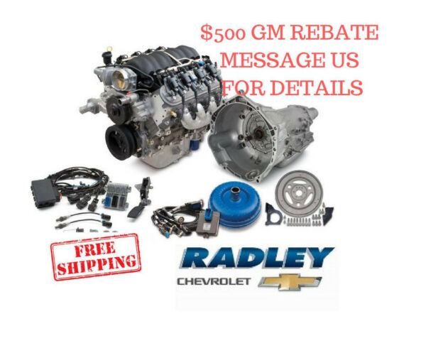 CHEVROLET OEM GM Performance LS3 430HP Connect & Cruise Package Engine 19370416