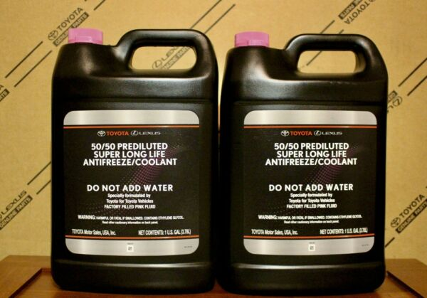 2 Gallons Toyota Super Long Life Coolant (fastest FREE shipping) 2-5 days