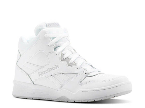 Reebok Classic Royal BB4500 High Top Sneaker in All White in Sizes 6.5 to 15