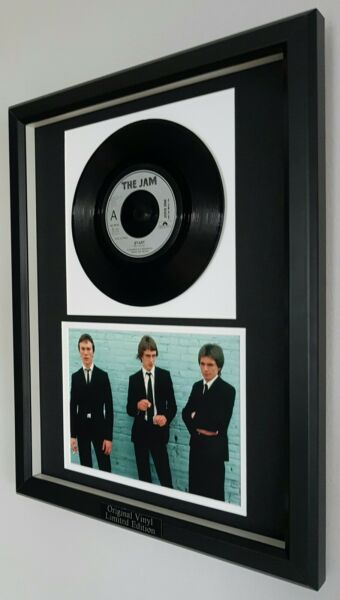 The Jam Original single #x27;Start#x27; Ltd Edition Certificate Paul Weller Oasis