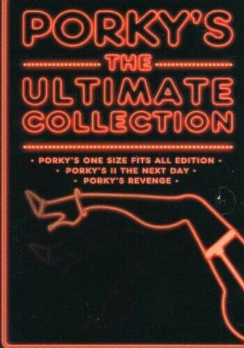 Porky's: The Ultimate Collection [3 Discs] DVD Region 1