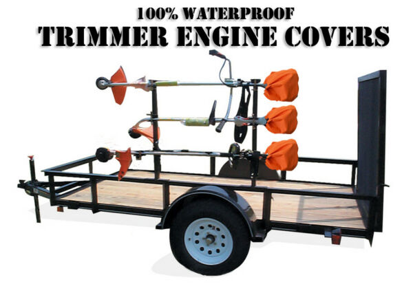 ORANGE Trimmer Engine Covers Edger Pole Saw ORIGINAL DryWraps 100% Waterproof $26.99