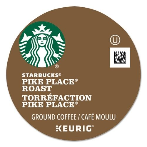 Starbucks Coffee Pike Place Coffee K-Cups Pack - 011067983CT