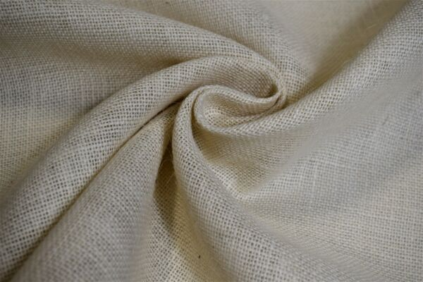 Burlap Jute Fabric Off White 58quot; W 11 Oz By The Yard Premium Upholstery Tabletop