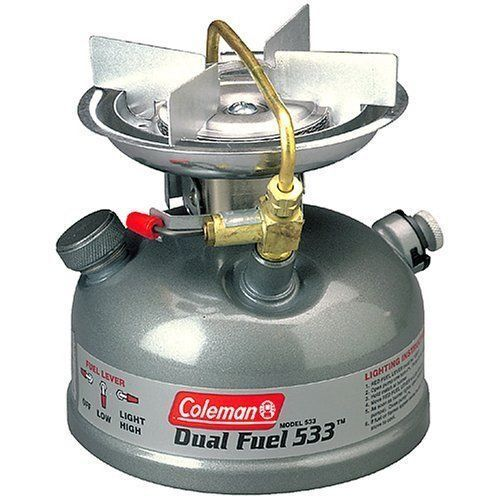 Coleman Sportster II Dual Fuel Single Burner Stove Camping Outdoor Cooking 533