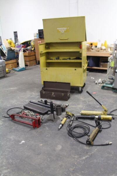 Enerpac MS Hydraulic Maintenance and Rescue Set  WITH CM-3 TOOL BOX