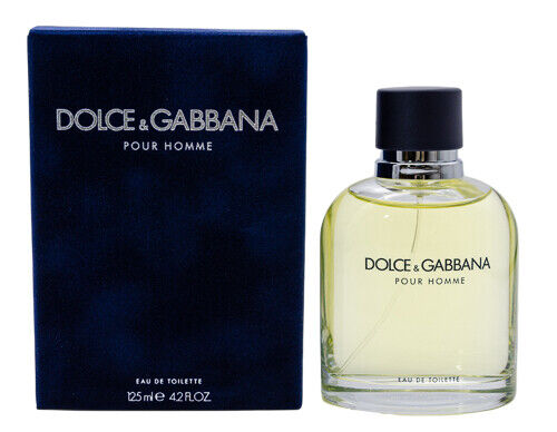 Dolce amp; Gabbana Pour Homme 4.2 oz EDT Cologne for Men New In Box