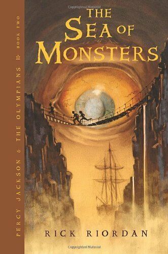 The Sea of Monsters Percy Jackson and the Olympians Book 2 by Rick Riordan $4.66