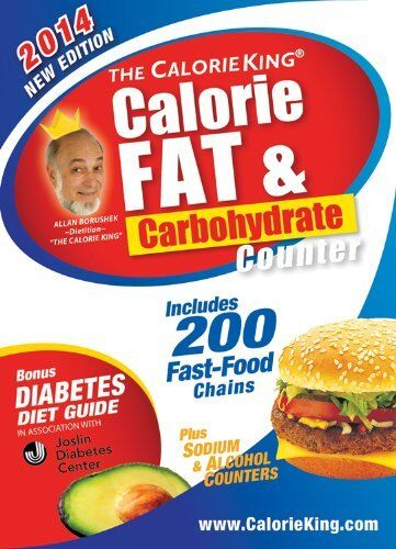 The CalorieKing Calorie Fat amp; Carbohydrate Counter 2014: Pocket Size Edition by $4.29