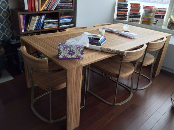 Natural Wood Dining Table from the Cecchini Italy Collection